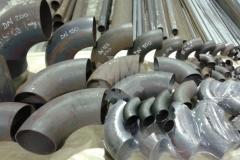 Steel bends for welding